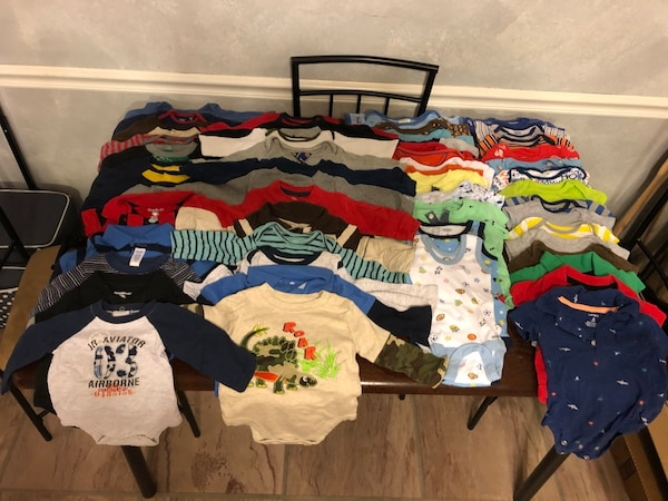 Infant clothes, 0-3m lot of onesies