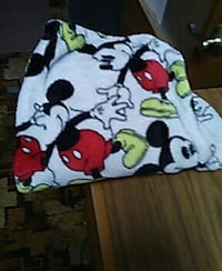 white and black Mickey Mouse pants