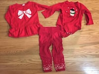 18 month Christmas outfits - lot 515 km