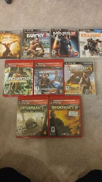 EUC PS3 Game Lot Toronto, M9M 0C9