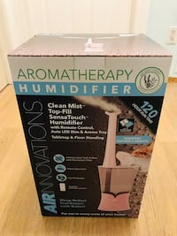 Brand new Air Innovations Aromatherapy clean mist humidifier with rem Brampton, L6T 1H7