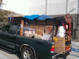 DELIVERY TRUCK, MOVING,