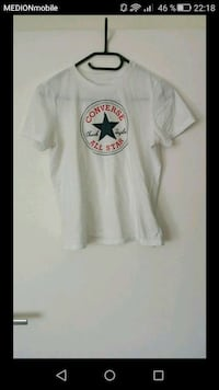weiß Conberse All Star Rundhals-T-Shirt Lüdenscheid, 58515