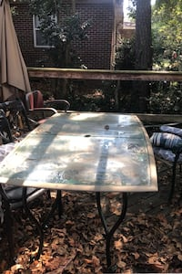 Patio Table w. Two Chairs
