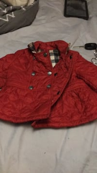 red button-up jacket Baltimore, 21216