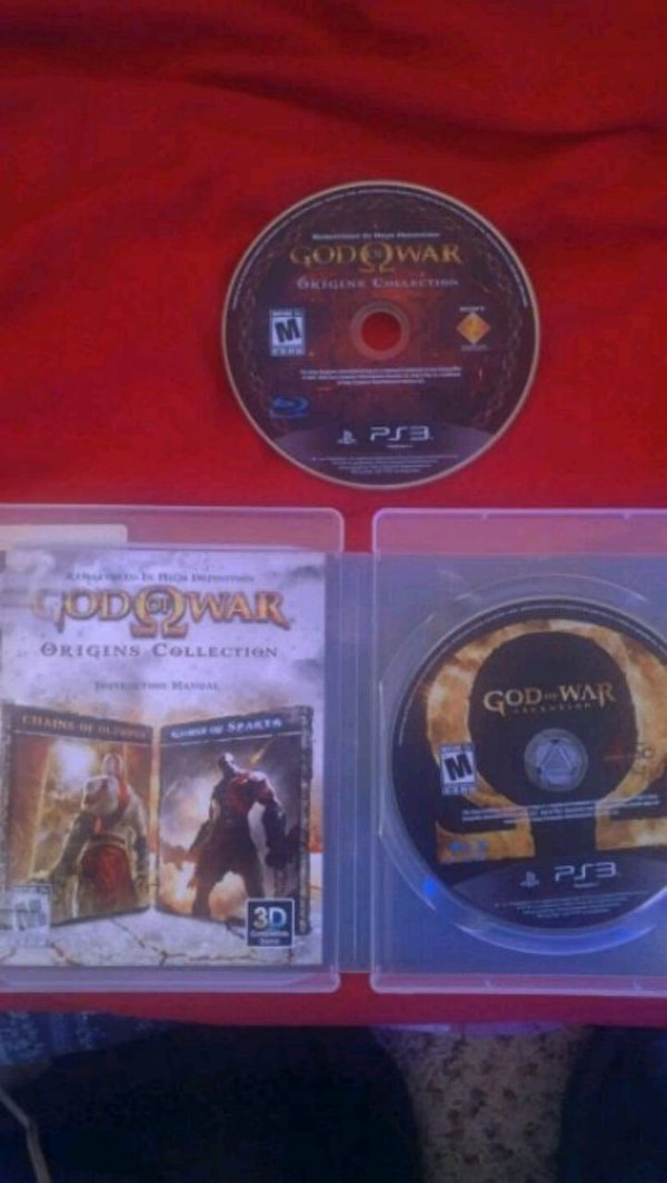 Sony PS3 God of War 3 game lot