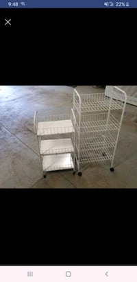 2 small carts South Bend