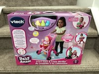 Unopened Vtech stroller toy $35 (price firm) pickup only