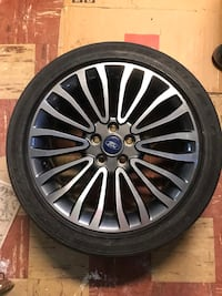 4 X 18inch Rims and tires Ford Fusion Silver Spring, 20901