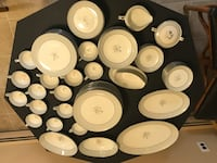 Vintage 1950 Noritake 85 Piece China Set Smithtown, 11787