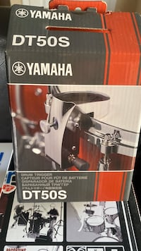 Yamaha EAD drum module with mic and bass trigger plus snare trigger Germantown
