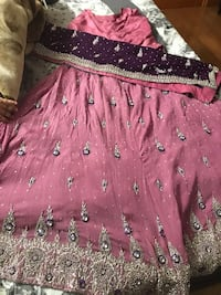 Women's pink and purple maxi dress Toronto, M6H 1R7