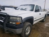 2002 Chevrolet Silverado 2500HD 4X4 Extended Cab L Grand Junction