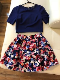 Top+floral skirt  Pittsburgh, 15211