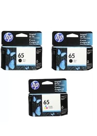 Hp 65 2 black and one color new Lake Forest, 92630