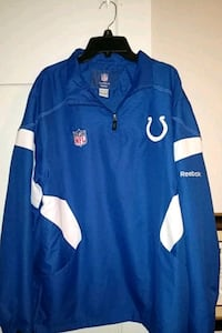 Authentic on- field Reebok Indianapolis Colts Jacket/ med