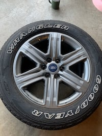 Ford F-150 stock wheels and tires Hillsboro, 97124