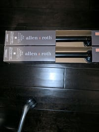 """2 New Grab Bar by Allen + Roth 18"""" Oil Rubbed"""