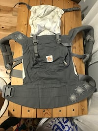 Baby's black carrier