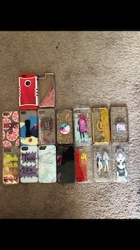 Selling my iPhone 6 cases, fitness band  Ironton, 45638
