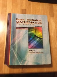 basic technical mathematics with calculus si version Waterloo