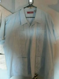white button-up long sleeve shirt Glen Burnie, 21061