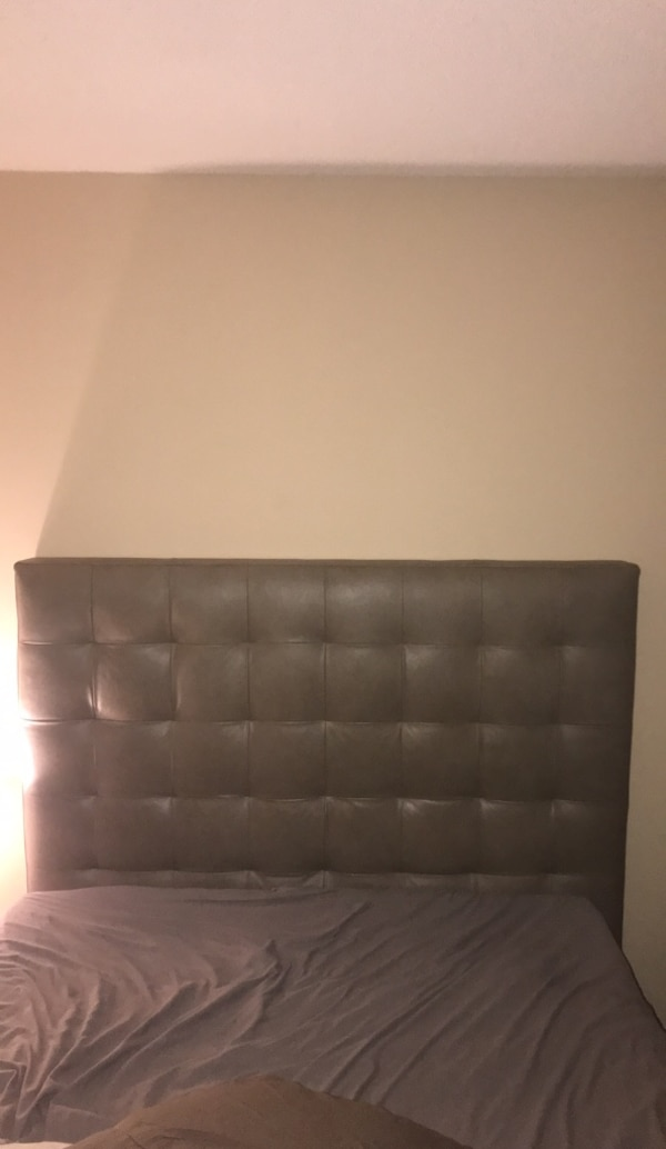Leather head board Queen size