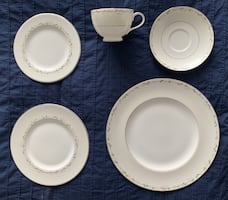 Royal Doulton 5pc china place setting for 4, EPIPHANY, total 20 pc