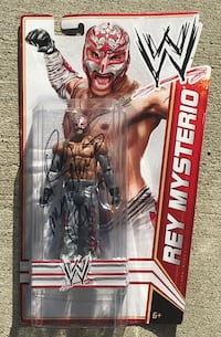 WWE Rey Mysterio Signed Action Figure  Hawthorne, 90250