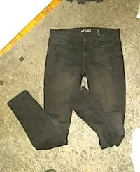 Rude jeans with patches on London, N6A 1P1