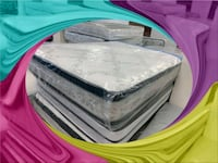 king pillow mattress with box spring Silver Spring, 20906