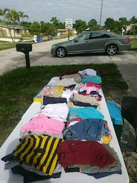 Yard sale clothes Deerfield Beach, 33441