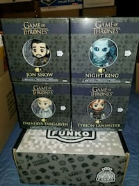 Game of thrones 5 star funkos (FIRM PRICE) Toronto, M1L 2T3
