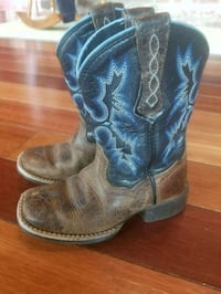 Ariat tombstone kids boots size 8.5 Centerville, 47330