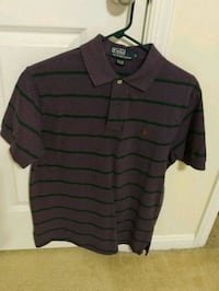 Purple and green striped Ralph Lauren polo Arlington, 22206