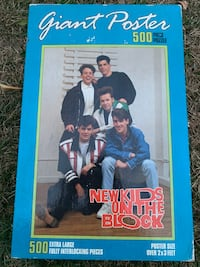 New Kids on the Block 500 piece puzzle Baltimore, 21228