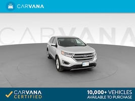 2016 Ford Edge suv SEL Sport Utility 4D Silver