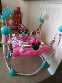 baby's pink and blue jumperoo El Paso, 79907