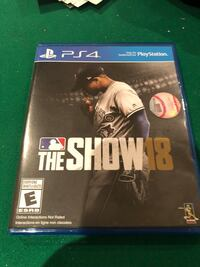 MLB the show 19 ps4 used   Bolton, L7E 1V6