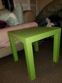 rectangular green wooden coffee table Holly Hill, 32117