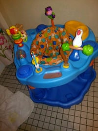 baby's blue and green activity saucer Gatineau, J8T 2W6