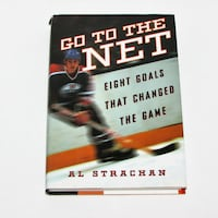 GO TO THE NET - NHL Hockey Gently Used Book Mississauga