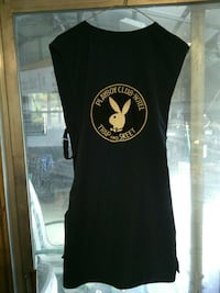 Black Playboy shooter vest