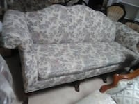 victorian camel back sofa wood design legs OMAHA