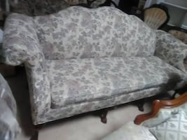 victorian camel back sofa wood design legs