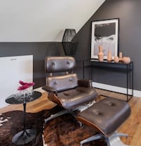 Eames Style Lounge Chair  Folsom, 19081