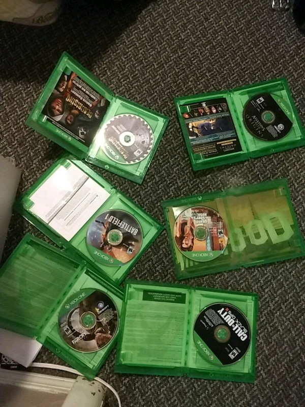 Assorted Xbox 1 games