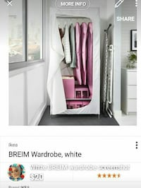 white BREIM wardrobe screenshot Surrey, V3X 1P3