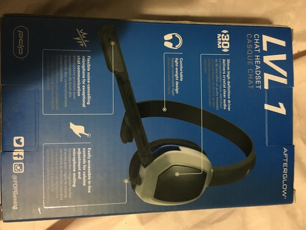 ps4  (LVL 1)  chat headset