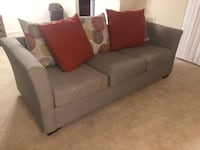Contemporary Loveseat and Sofa Set Temple Hills, 20744